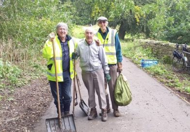 Sustrans Rangers –  2nd Tuesday of the Month!